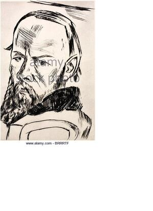 Sketch of Dostoevsky