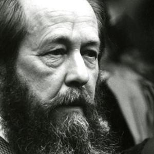 Photo of Solzhenitsyn at Harvard